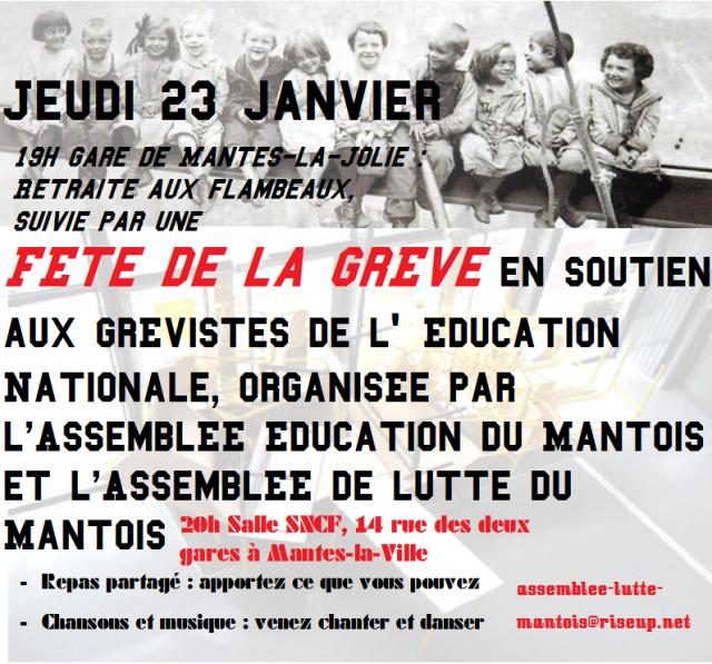 Agenda Des Luttes A Mantes Paris Luttes Info